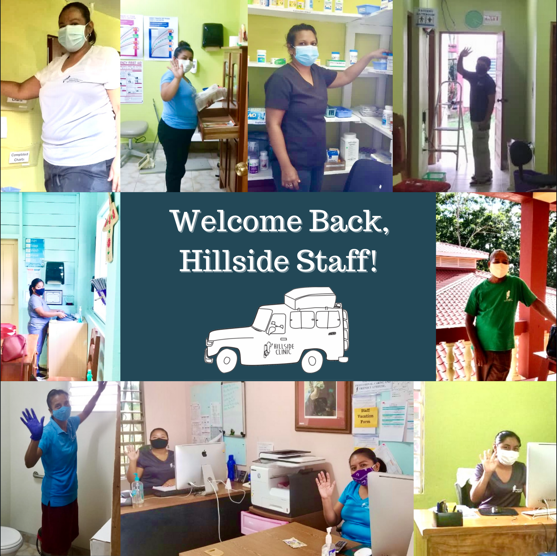 Welcoming back our Hillside staff!